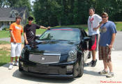left to right, Tony, Zack, Brad, and Jeremy, 04 CTS-V... bad to the bone.