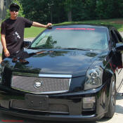 Zack and his new 2004 CTS-V