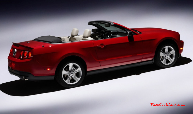 The all New 2010 Ford Mustang & Mustang GT, in Coupe or Convertible models.