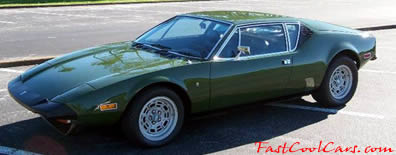 1973 DeTomaso Pantera L - an all original car for the discriminating buyer.