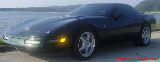 1993 Chevrolet Corvette - 40th Anniversary edition - LT1 - 6 Speed, ZR1 wheels, fast cool car for sure.
