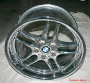 "19"" M Parallel Chrome Rims for my BMW 740iL"