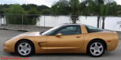 1998 Aztec Gold Corvette, one of 15 made.
