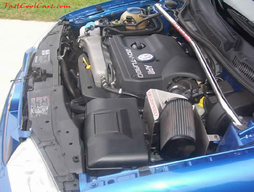 2001 VW Bora - Turbo - Intercooled - 5 Speed engine view, 1.8 turbo, intercooled