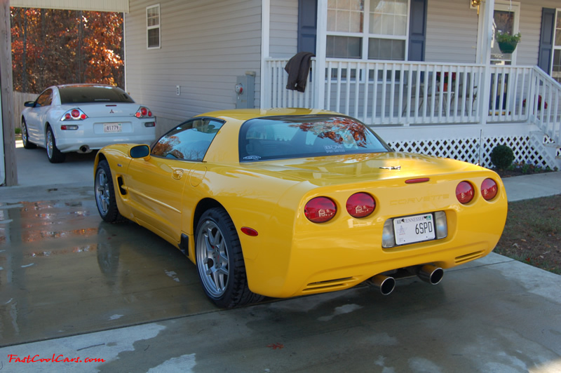 2002 Millennium Yellow Z06 Corvette - 405 HP Stock - At its new home in Cleveland, TN