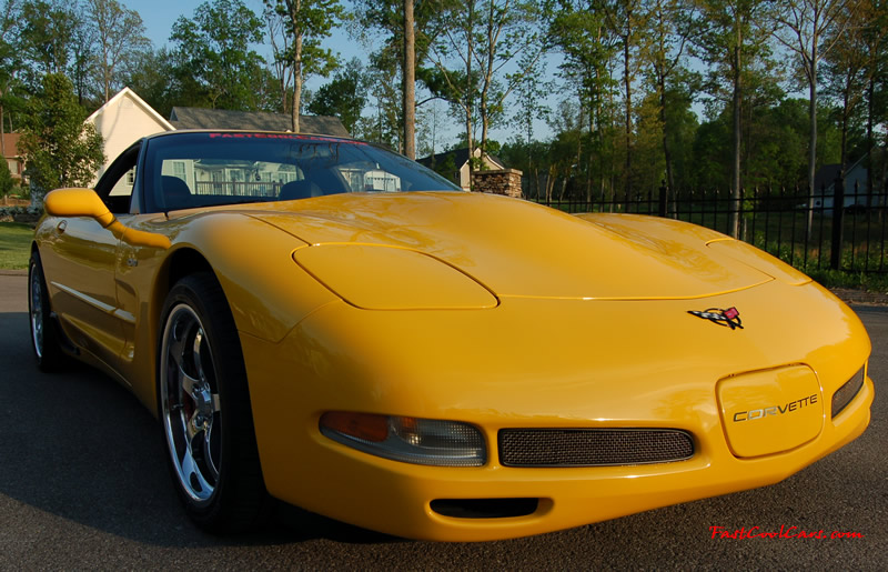 2002 Millennium Yellow supercharged & methanol injected Z06 Corvette, with many modifications, over 50 grand invested in the past 2+ years, for sale $38,000 what a deal. 555 HP | 565TQ - Polished blower. Caravaggio custom blower hood.