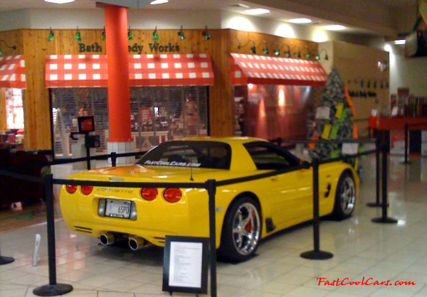 2002 Millennium Yellow supercharged & methanol injected Z06 Corvette, with many modifications, over 50 grand invested in the past 2+ years, for sale $38,000 what a deal. 555 HP | 565TQ - Polished blower, at the Bradley Square mall here in Cleveland, TN