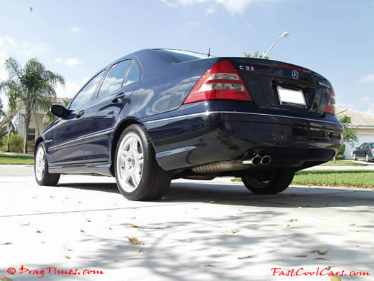 2002 Mercedes Benz C32 AMG - Special features of the C32 AMG include a 349-hp supercharged V6