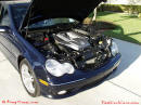 2002 Mercedes Benz C32 AMG - Luxury and sport all in one. Cool looking engine