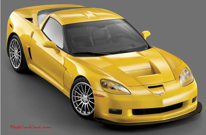 2008-2009 ZO7 Chevrolet Corvette - Supercharged 650 HP