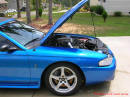 1998 Mustang Cobra Convertible - 1 of 223 - Electric blue - Fast Cool Cars.