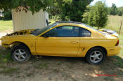 1998 Ford Mustang SVT Cobra Coupe, Roush Edition