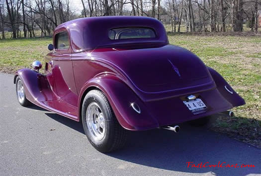 1934 Ford 3 window coupe streetrod - VERY COOL car! - Fast Cool Car!