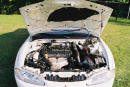1996 Eclipse, engine compartment, DOHC 2.0 liter engine with spyder transmission