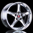 "1998 Mustang GT - Ford Motor Sports Cobra ""R"" Chrome 17' Wheels, $1440 a set. Very cool wheels - Fast Cool Cars"