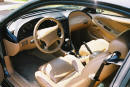 1998 Ford Mustang GT - drivers interior picture, 5 speed, leather, loaded - fastcoolcars.com