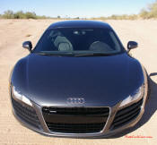 Audi R8 Designed to compete against the Porsche 911, the new Audi R8 features quattro permanent four-wheel drive, space frame aluminum body and the mid-mounted 420 bhp V8 FSI engine