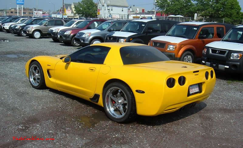 C5 Chevrolet Z06 Corvette 2001 - 2004, 385 to 405 horsepower, Aluminum block and heads LS6, all with 6 speeds.  America's sport car.
