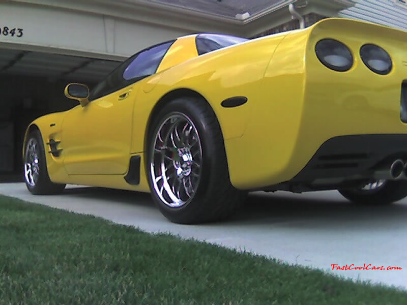 C5 Chevrolet Z06 Corvette 2001 - 2004, 385 to 405 horsepower, Aluminum block and heads LS6, all with 6 speeds.  America's sport cars.