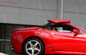California Ferrari, Hardtop Convertible, front engine, rear wheel drive.