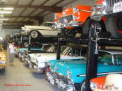 Very cool GM personal car collection.