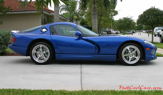 1996 Dodge Viper GTS - His best ET and MPH to date is 11.62 @ 120.61
