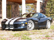 2001 Viper GTS - This is a 1 of 37 Sapphire Blue with silver Stripes.