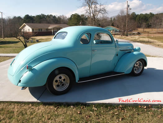 1937 Plymouth Coupe - All steel body, 400 big block Chrysler engine