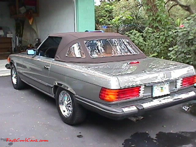 1983 380SL Mercedes - 62,000 original miles - Tru-spoke wire wheels