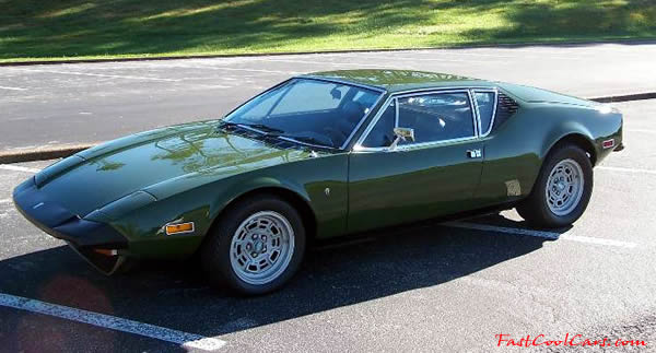 1973 DeTomaso Pantera L - an all original car for the discriminating buyer
