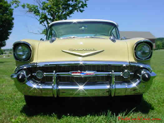 1957 Chevrolet Bel-Air - 2 door hardtop FOR SALE