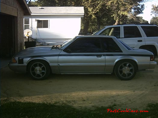 1990 LX Mustang coupe, 5.0, 5-spd with lots of modifications for sale