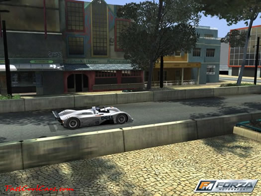 Just released press screen shots of the new Forza game due to come out in February of 2005