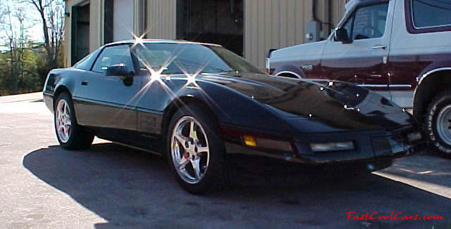 1992 Chevrolet Corvette Coupe - LT1, 6 speed, factory rated 300 horsepower