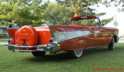 1957 Chevrolet Belair Convertible - A classic in its own right, this rare 57' Chevy Fuel-injected convertible