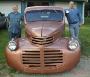 1941 Chevrolet Pick-up the chassis is a '91 S-10. The engine is a 4.3 V6