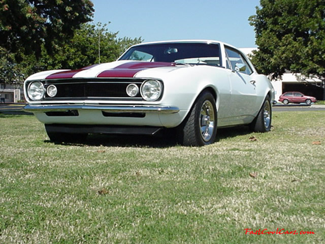 1967 Chevrolet Camaro ~ I bought my car from a bone yard.