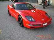 C5 Chevrolet Corvette Z06 in Schwitzerland