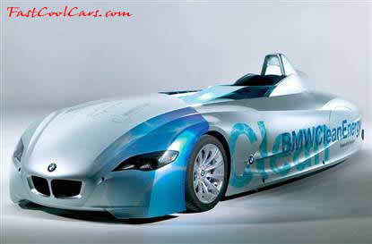 Hydrogen Powered BMW 6 Liter 12 Cylinder, 188 MPH named the H2R