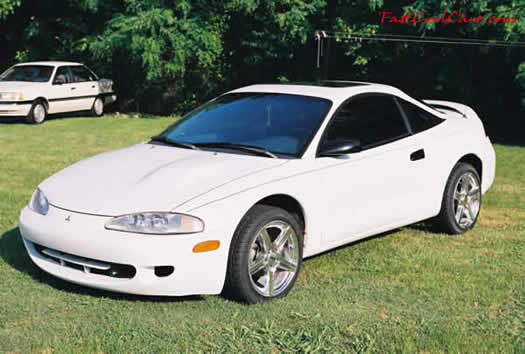 1996 Mitsubishi Eclipse RS - sunroof and all, fast cool cruising car
