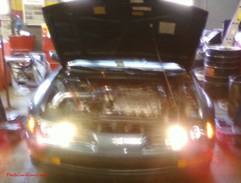 1992 Honda Prelude SI VTEC 4WS .... it's got a JDM H22a swap from the original h23a2, Yeah the picture is a little blurry, LOL  I did not take it.