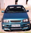 1997 Volkswagon Golf from South Africa modified