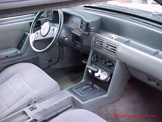 1989 Mustang GT automatic transmission Cobra wheels