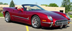 A special edition of the regular Chevy Corvette Convertibles for 2003