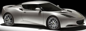 Lotus 2+2 GT 'Evora' right side view.