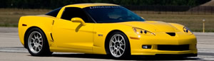 Lingenfelter's fastest C6 Corvette standing mile pass with street tires 226.25 MPH