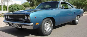1970 Plymouth RoadRunner Hemi 4 speed
