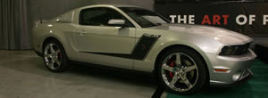 Roush unveils 427R package based on the 2010 Ford Mustang
