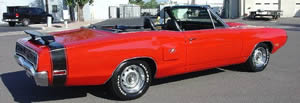 1970 Dodge Coronet R/T Convertible 440 V8, pistol grip four speed