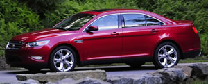 2010 Ford Taurus SHO returns with 365HP EcoBoost V6, Plus all wheel drive, paddle-shift six speed gearbox.